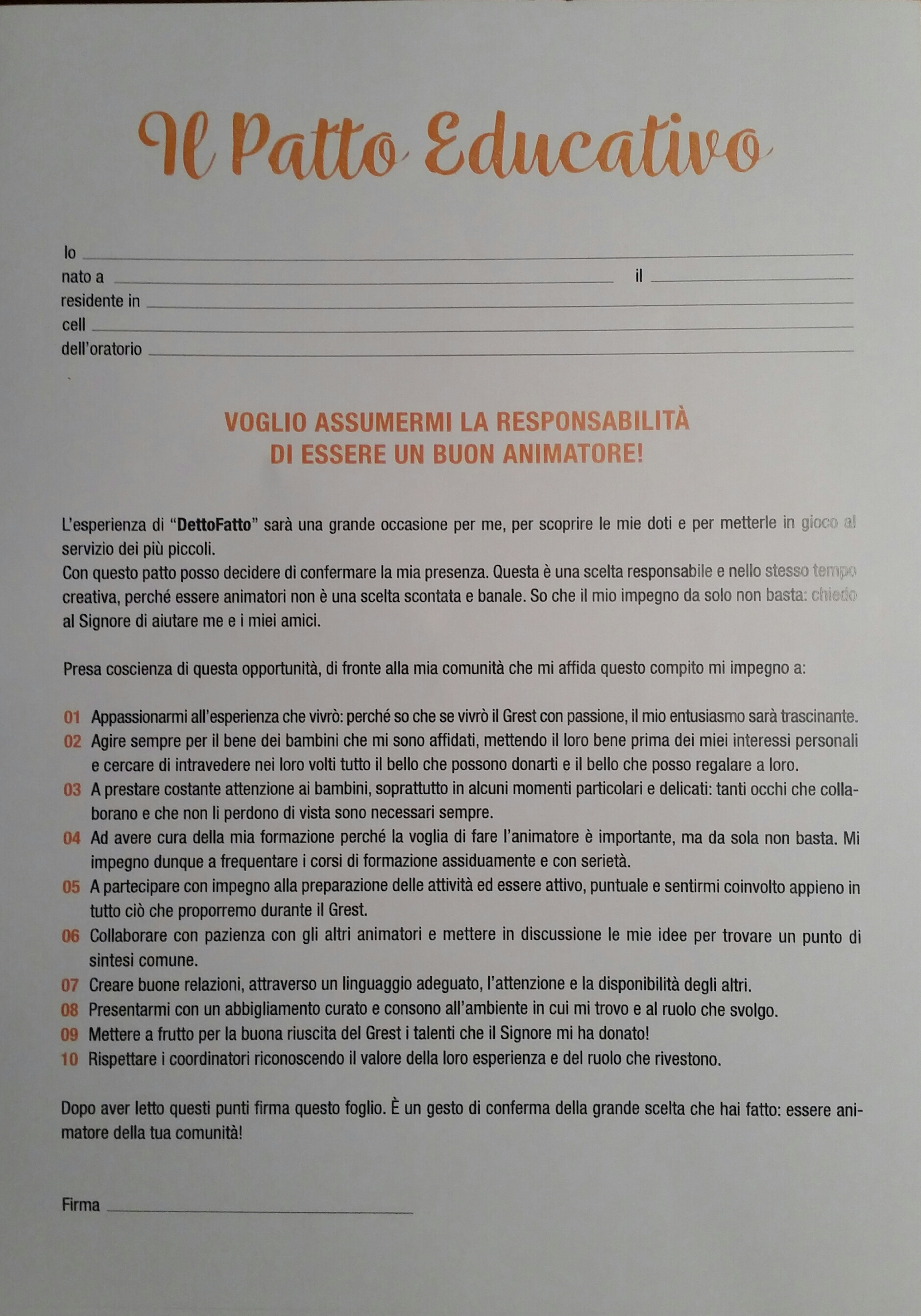 2017 patto educativo animatori